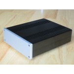 Solid Non-Magnetic Aluminum Chassis (54x168x203mm) and 7mm faceplate