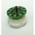 Easy soldering board for 9pin socket (25mm)