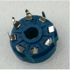 Moulded Teflon 8 Pin Octal (PCB Mount)